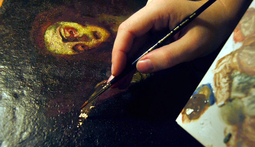 Restauración de pintura